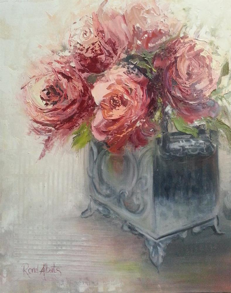 """roses"" original fine art by Ronel Alberts"