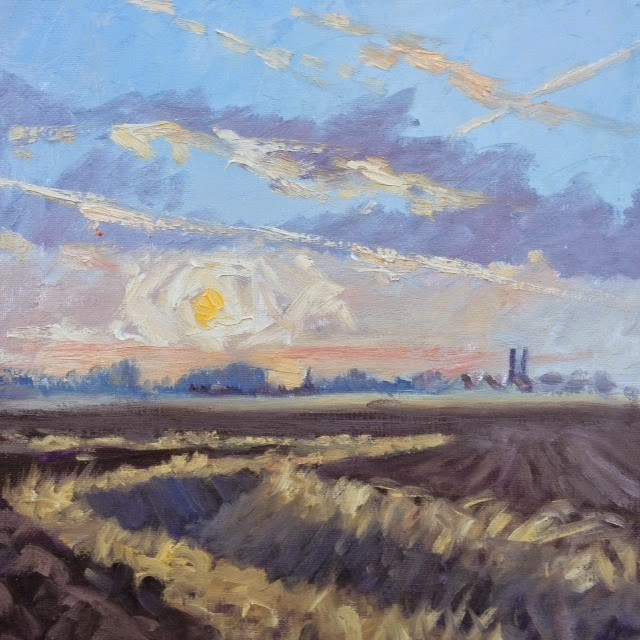 """""""Day 24 of 30 paintings in 30 days"""" original fine art by Mo Teeuw"""