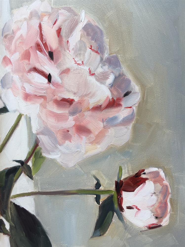 """284 Becoming"" original fine art by Jenny Doh"