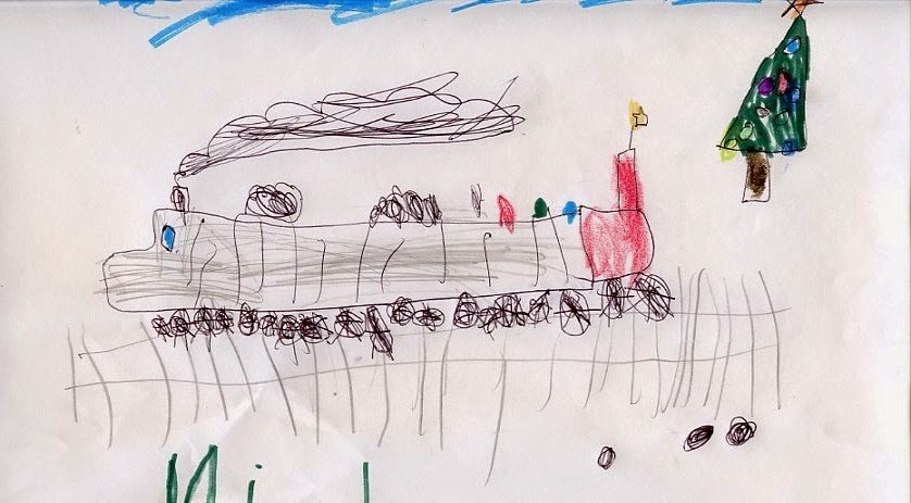 """Happy Holidays"" original fine art by Sue Furrow"