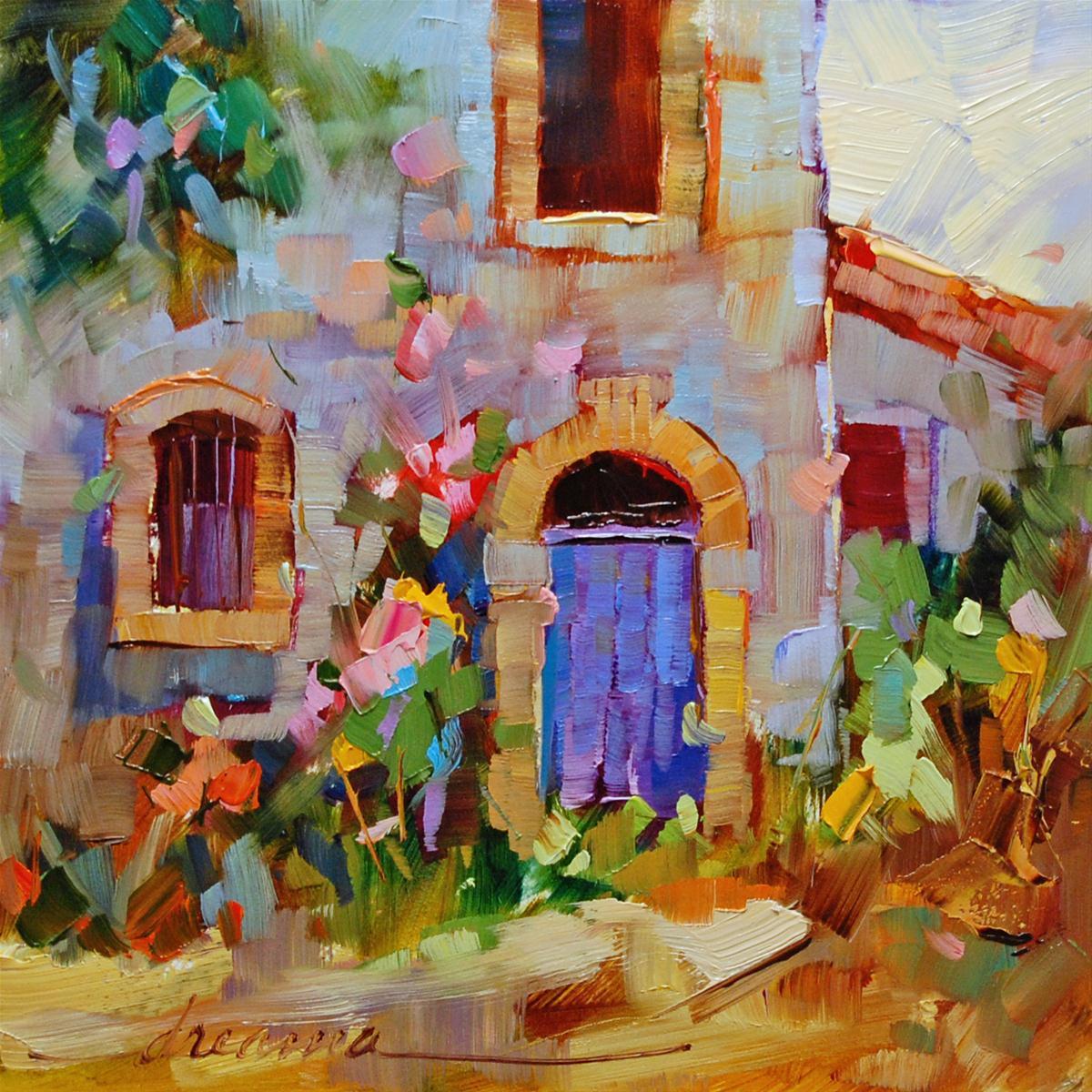 """Random Joy"" original fine art by Dreama Tolle Perry"