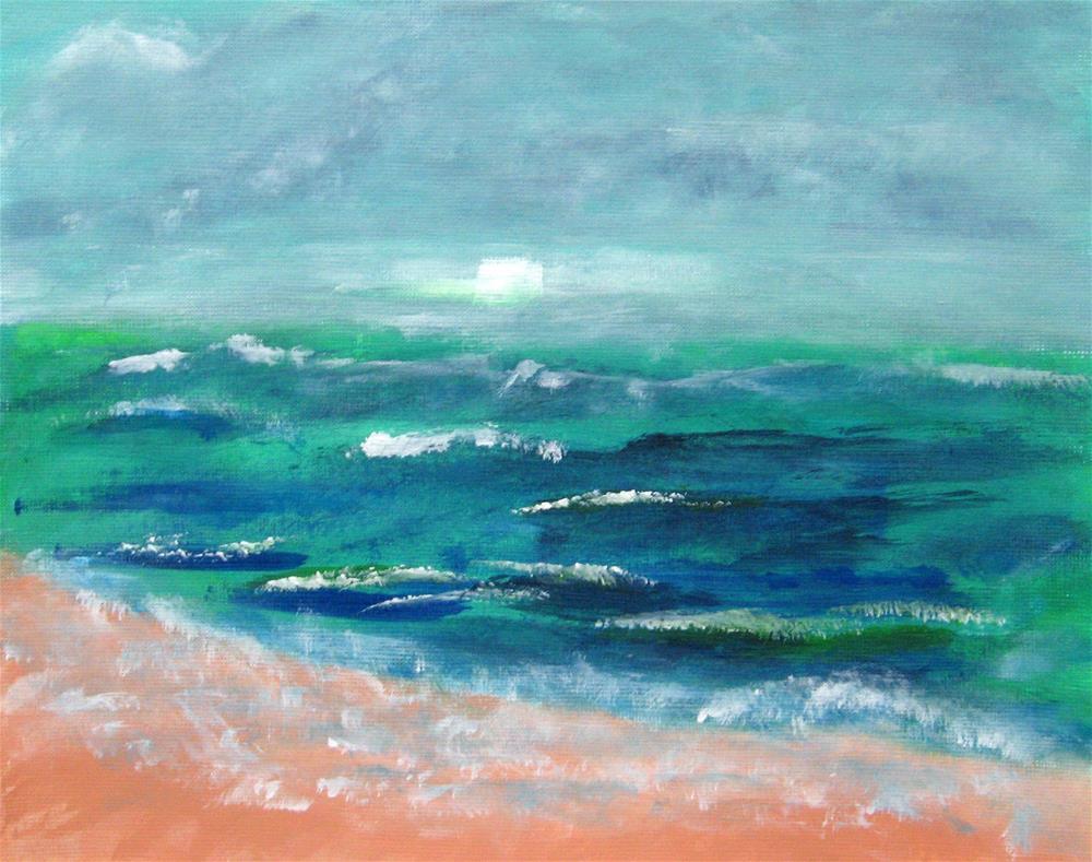 """Morning Walk"" original fine art by Alina Frent"