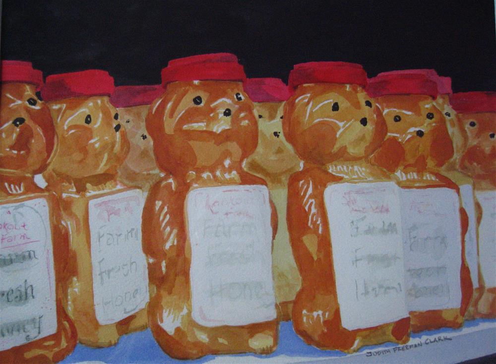 """Breakfast Pals"" original fine art by Judith Freeman Clark"