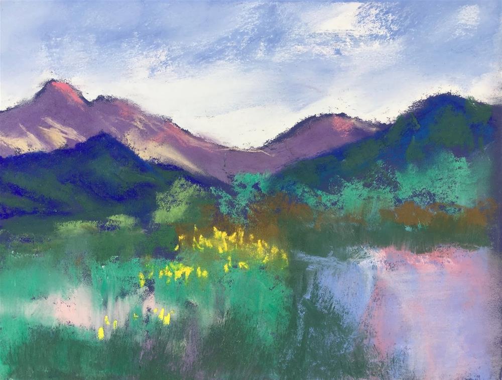 """Arizona Spring"" original fine art by Amy Whitehouse"