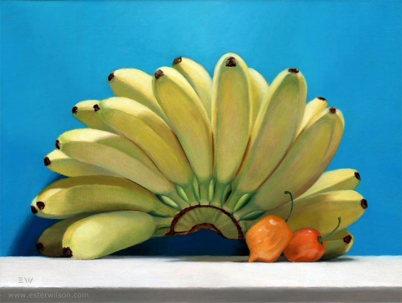 """""""Tropical"""" original fine art by Ester Wilson"""