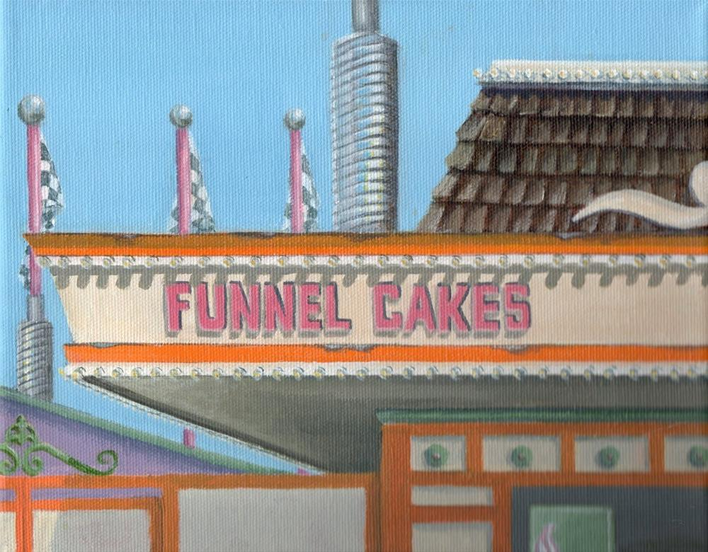 """Funnel Cakes"" original fine art by Debbie Shirley"