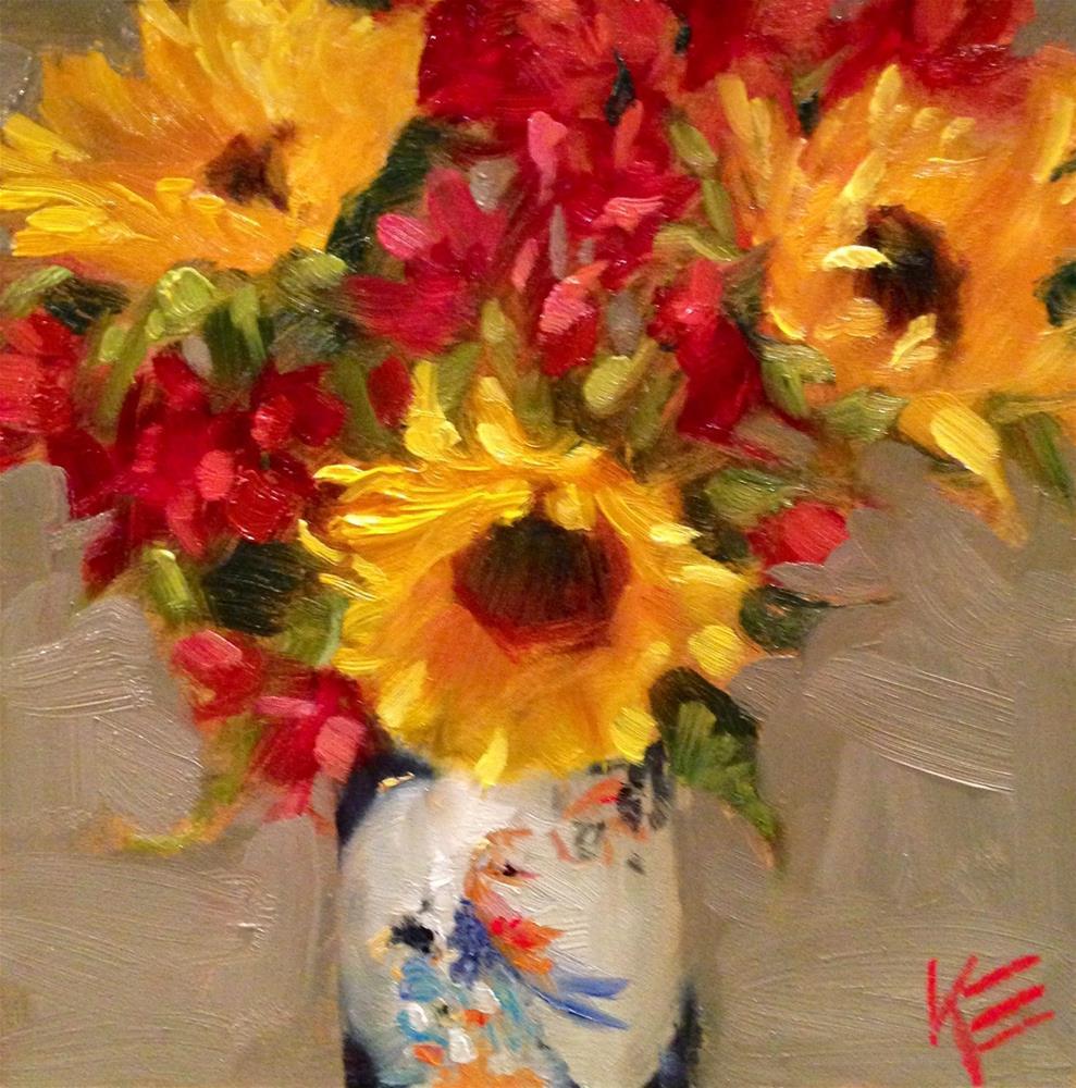 """""""Fugue"""" original fine art by Krista Eaton"""