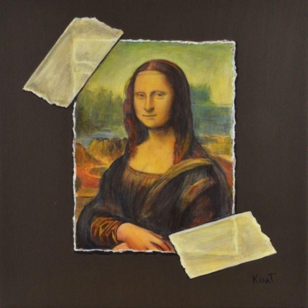 """I'm No Da Vinci"" original fine art by Kim Testone"