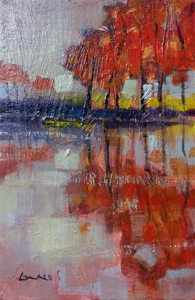 """""""Landscape #4"""" original fine art by salvatore greco"""
