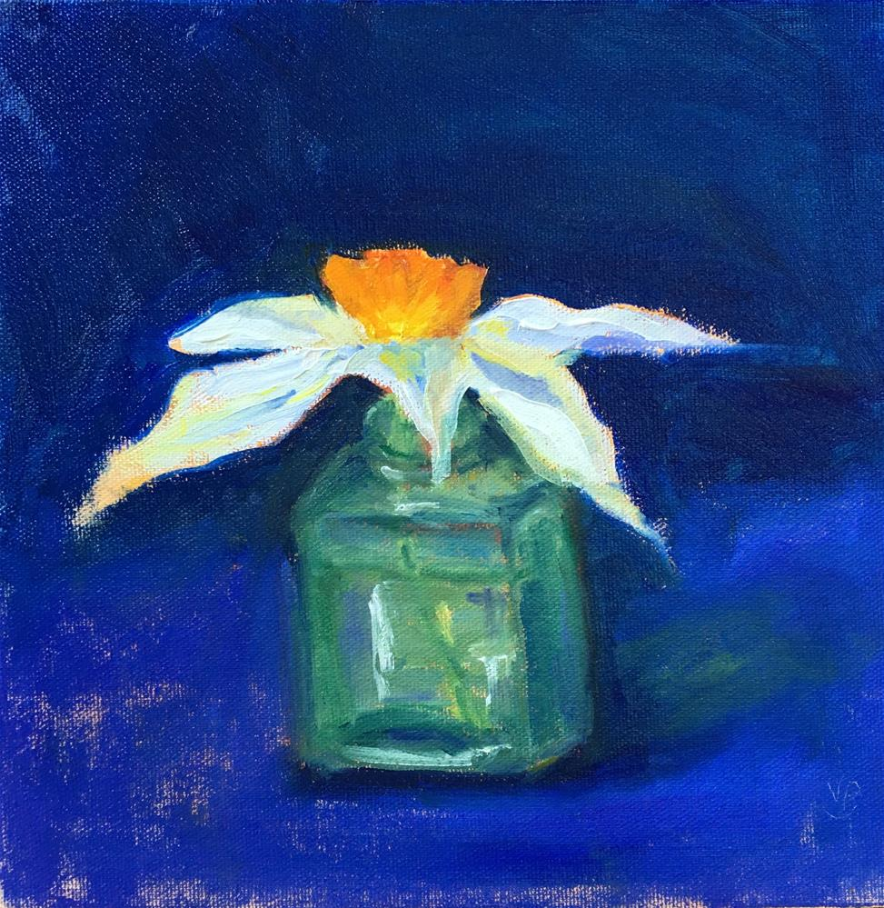 """Little Jonquil"" original fine art by Victoria  Biedron"