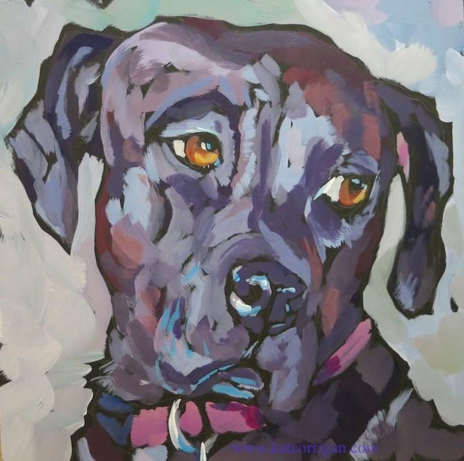 """Annie, July 7"" original fine art by Kat Corrigan"