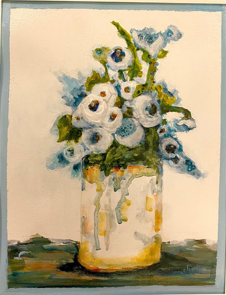 """""""BEAUTY IN BLOOM"""" original fine art by Judie Mulkey"""