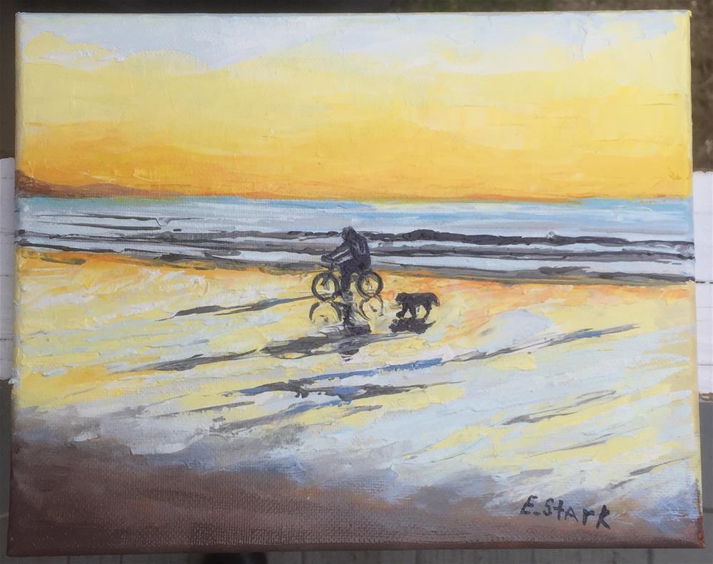 """""""Golden"""" original fine art by Elizabeth Ann Stark"""