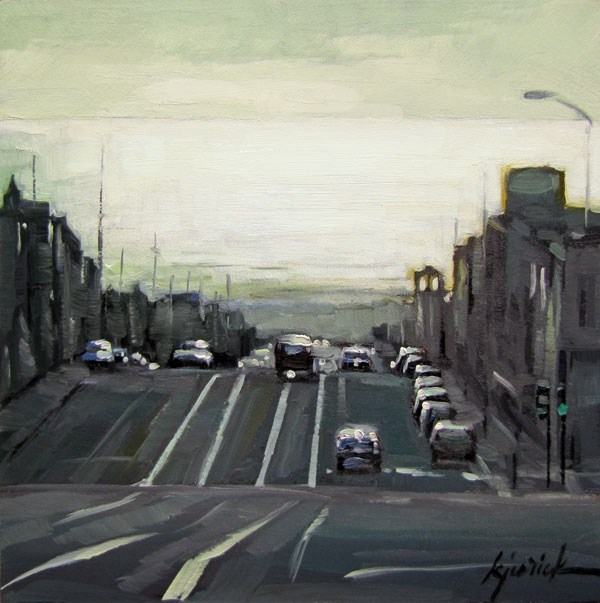 """Outer Sunset"" original fine art by Karin Jurick"