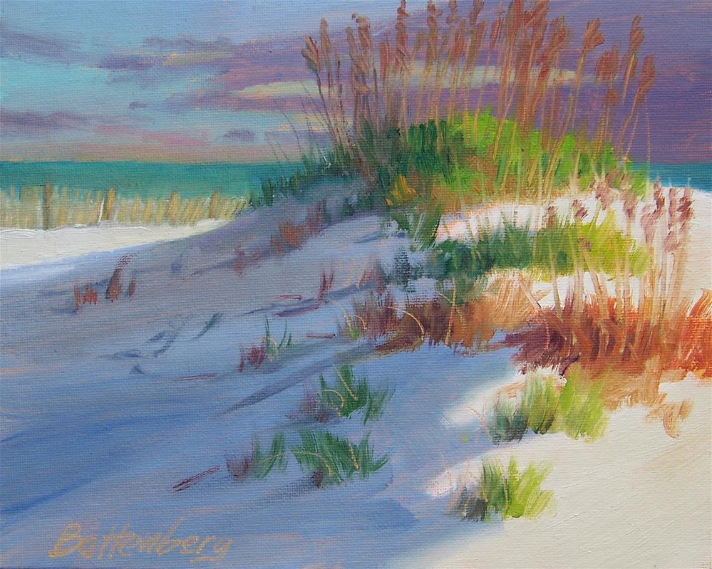 """""""Sea Oats"""" original fine art by Mike Battenberg"""