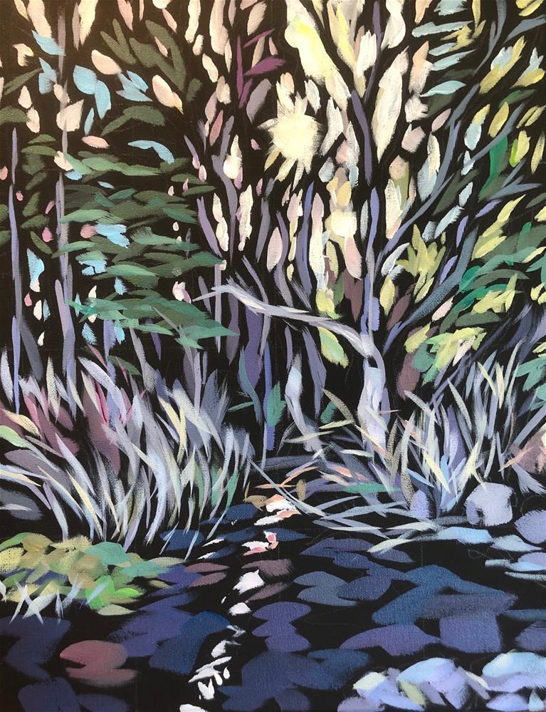 """Light Breaks Through"" original fine art by Kat Corrigan"