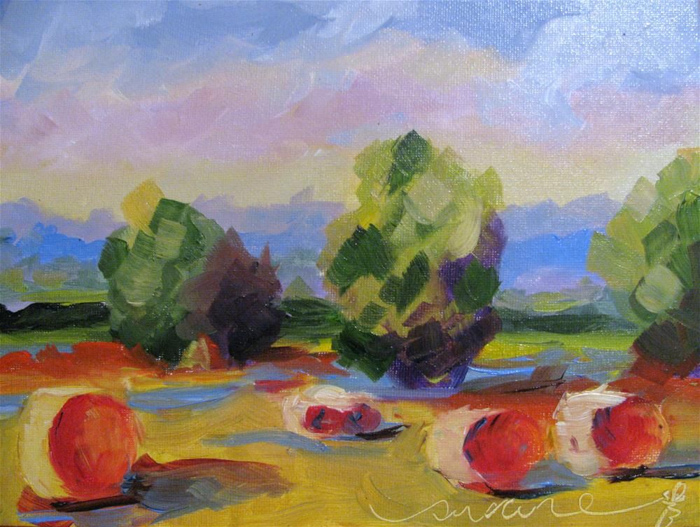 """Class demonstration paintng"" original fine art by Susan Elizabeth Jones"