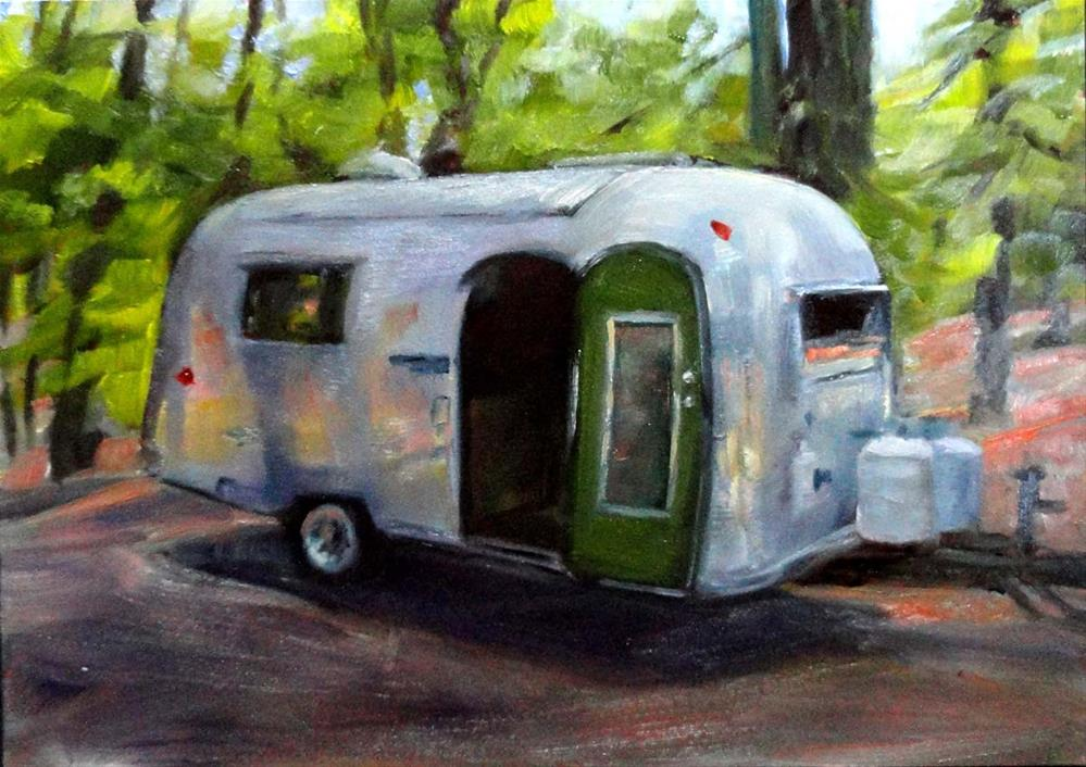 """Welcome In"" original fine art by Cietha Wilson"