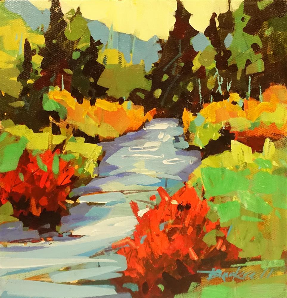 """Summer Stream"" original fine art by Brian Buckrell"