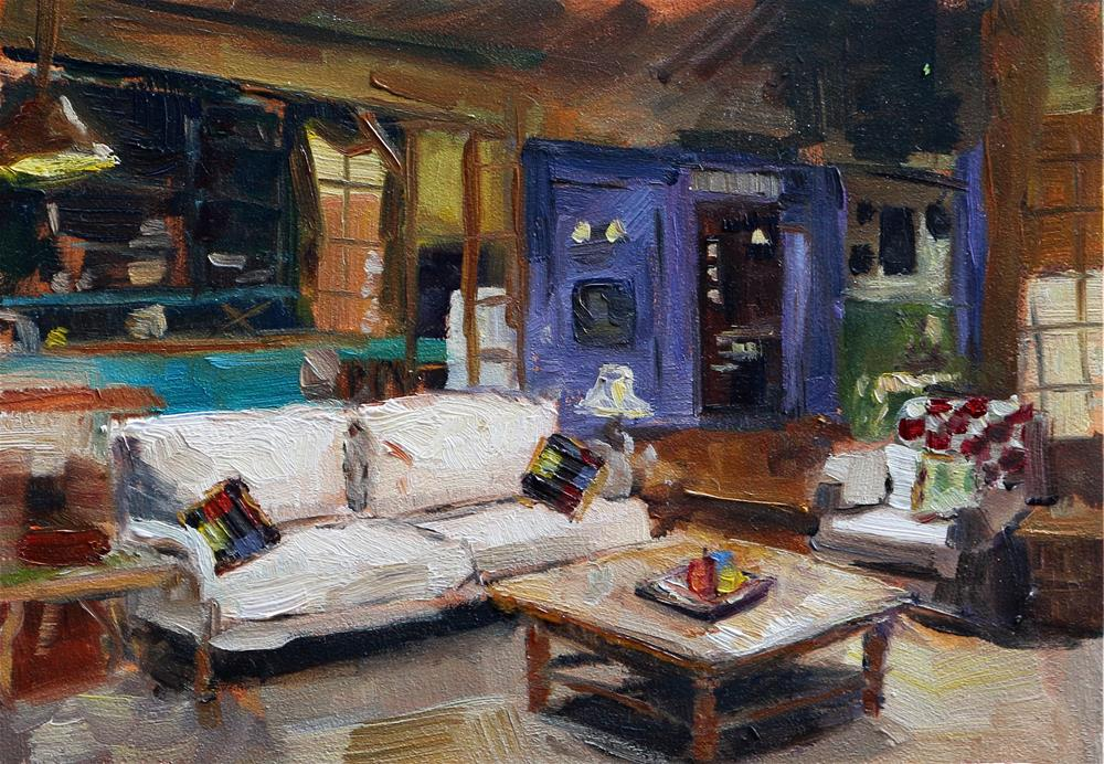 """happy place"" original fine art by Miranda Dalessi"