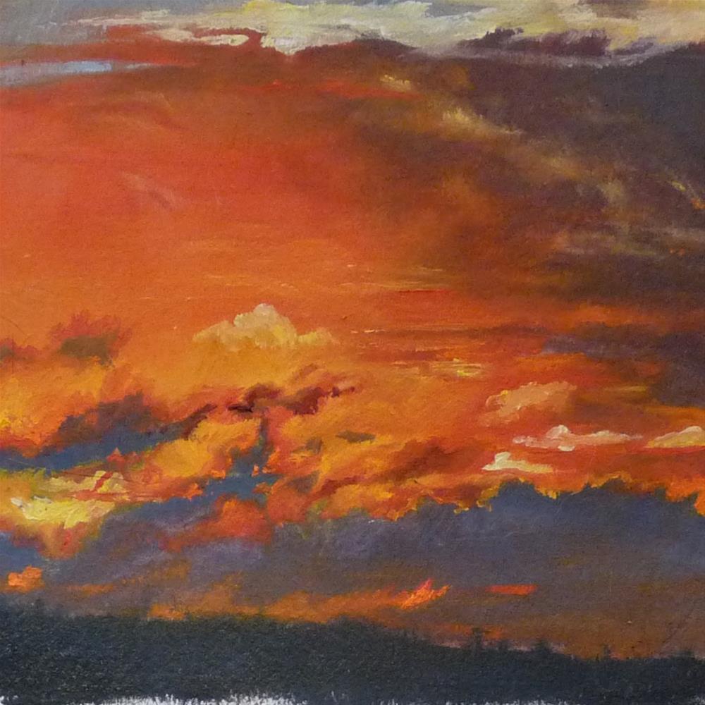 """Sky5"" original fine art by Sharman Owings"