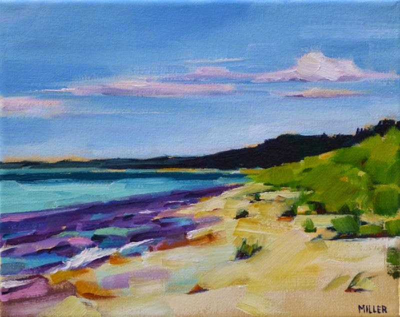 """Nordhouse Dunes No. 2"" original fine art by Jessica Miller"