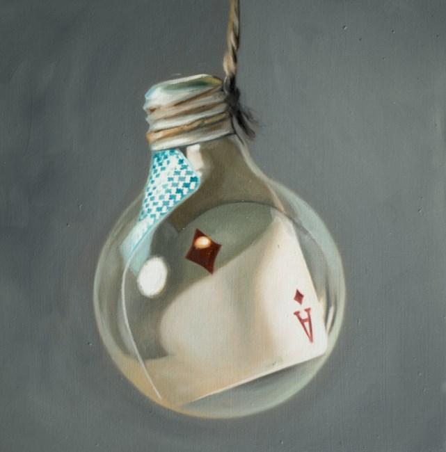 """""""Ace Light Bulb"""" original fine art by Lauren Pretorius"""