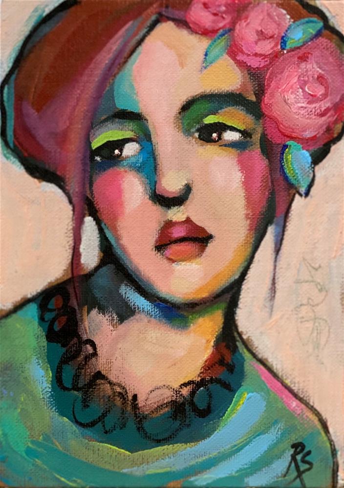 """Novo Amor "" original fine art by Artcylucy Art by Roberta Schmidt"