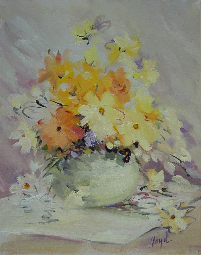 """Happy Color"" original fine art by Diane Lloyd"