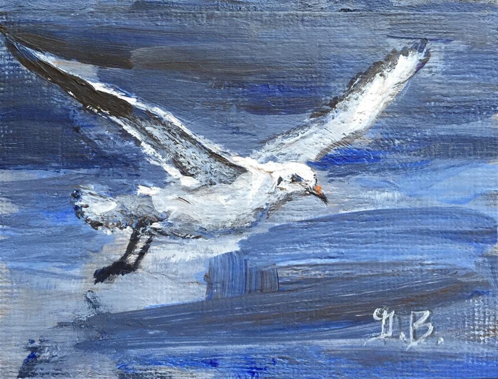 """Tern"" original fine art by Gary Bruton"
