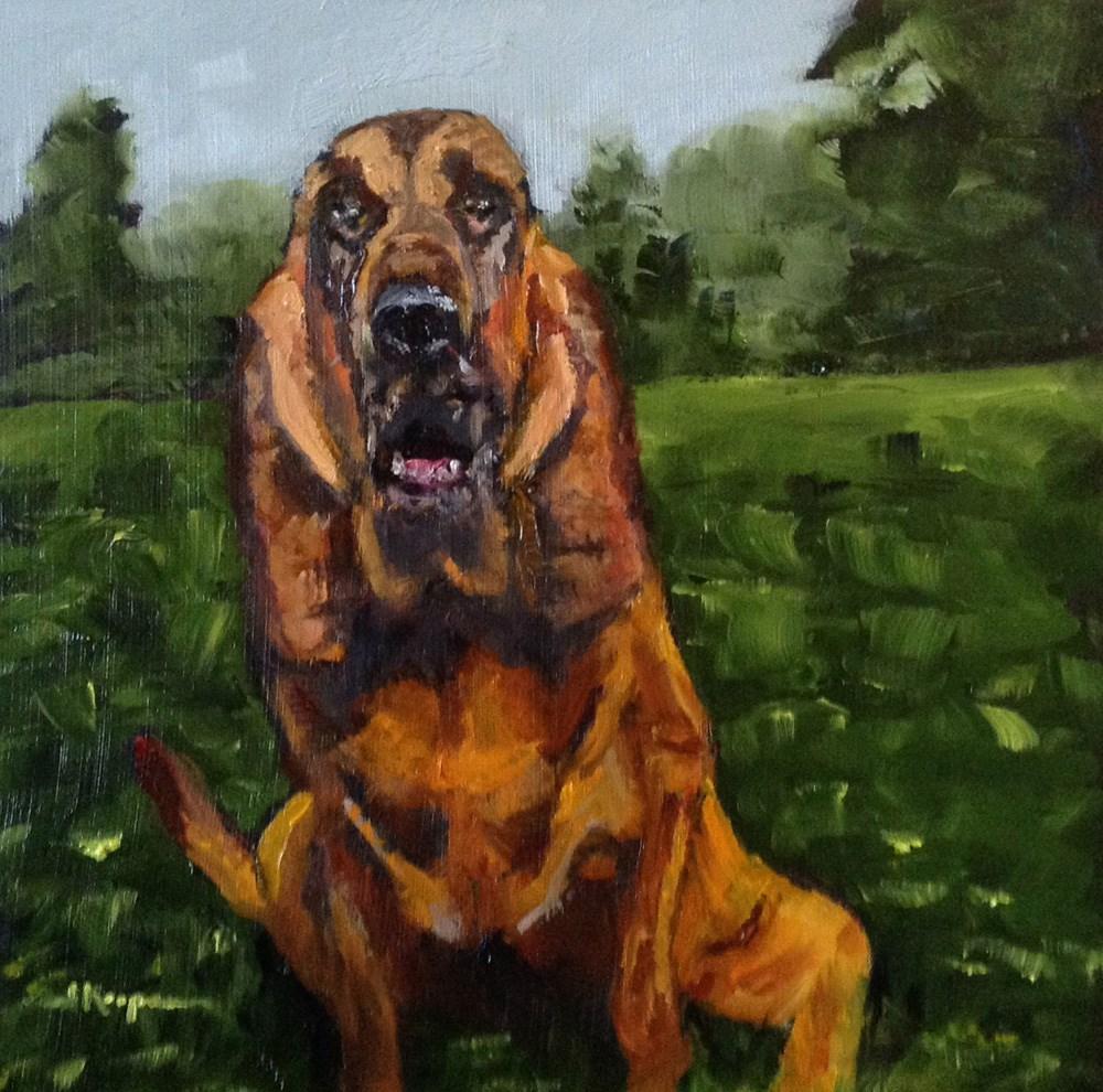 """""""Lucy"""" original fine art by Shelley Koopmann"""