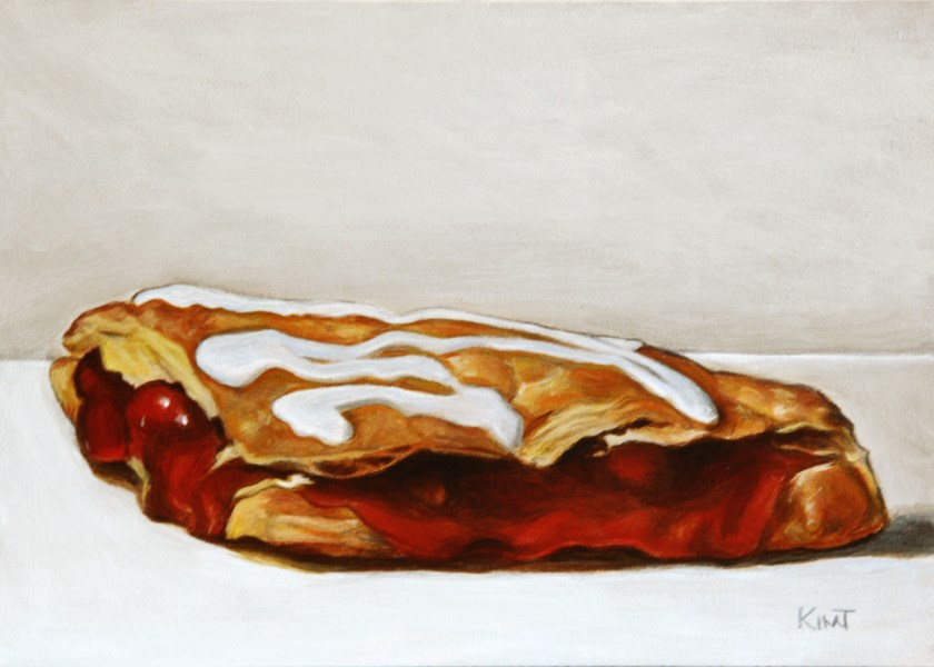 """Cherry Turnover"" original fine art by Kim Testone"