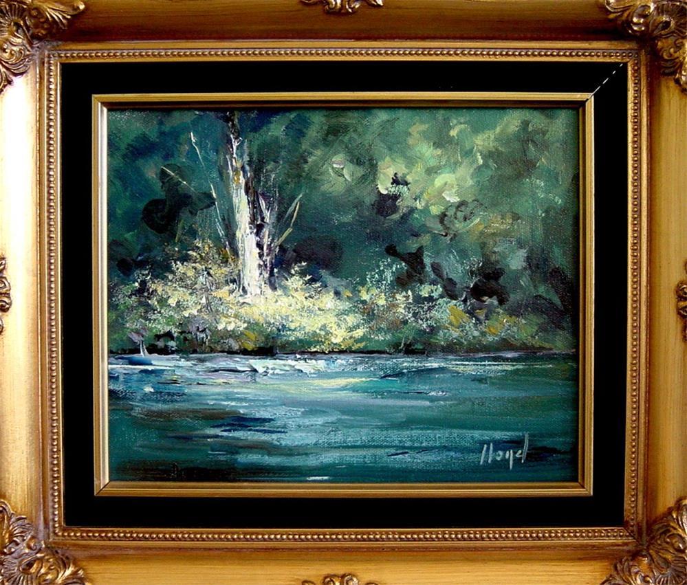 """Ray of Sunshine"" original fine art by Diane Lloyd"