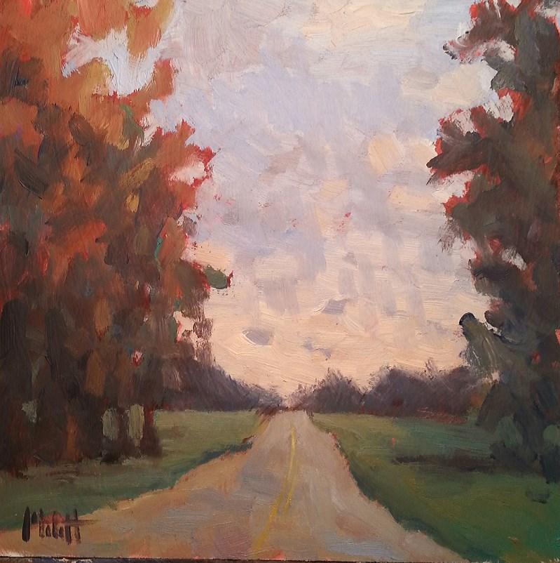 """Autumn Impressionist Landscape Daily Oil Painting"" original fine art by Heidi Malott"