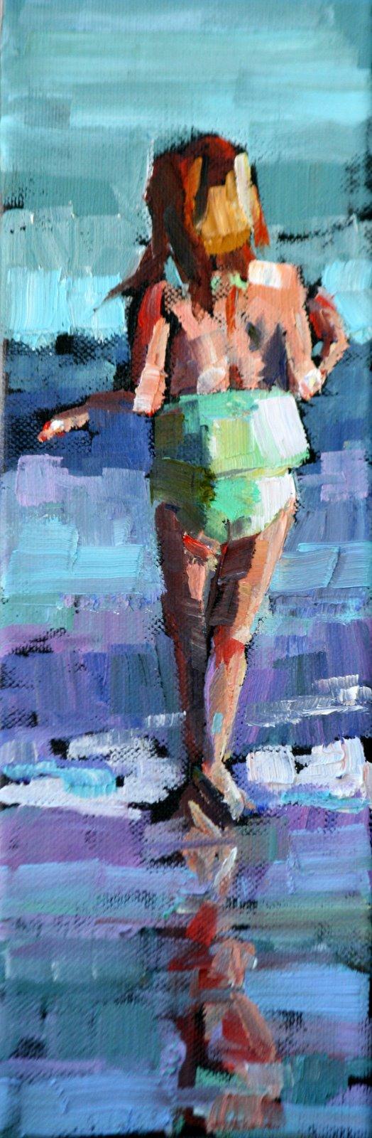 """summer time"" original fine art by Carol Carmichael"