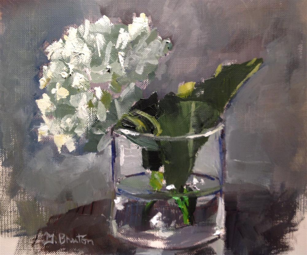 """Hydrangea II"" original fine art by Gary Bruton"