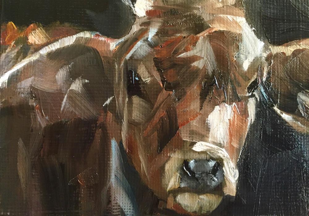 """""""Bessie"""" original fine art by Gary Bruton"""