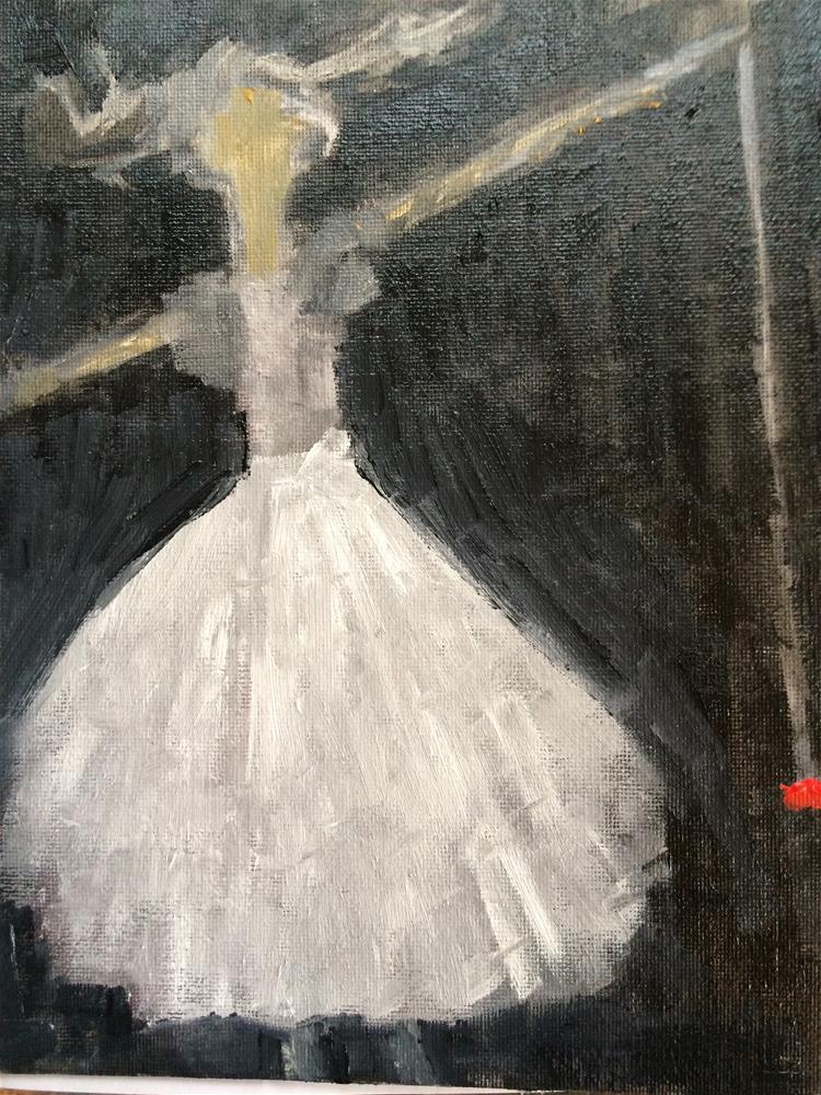 """""""Yo yo bride"""" original fine art by pamela kish"""