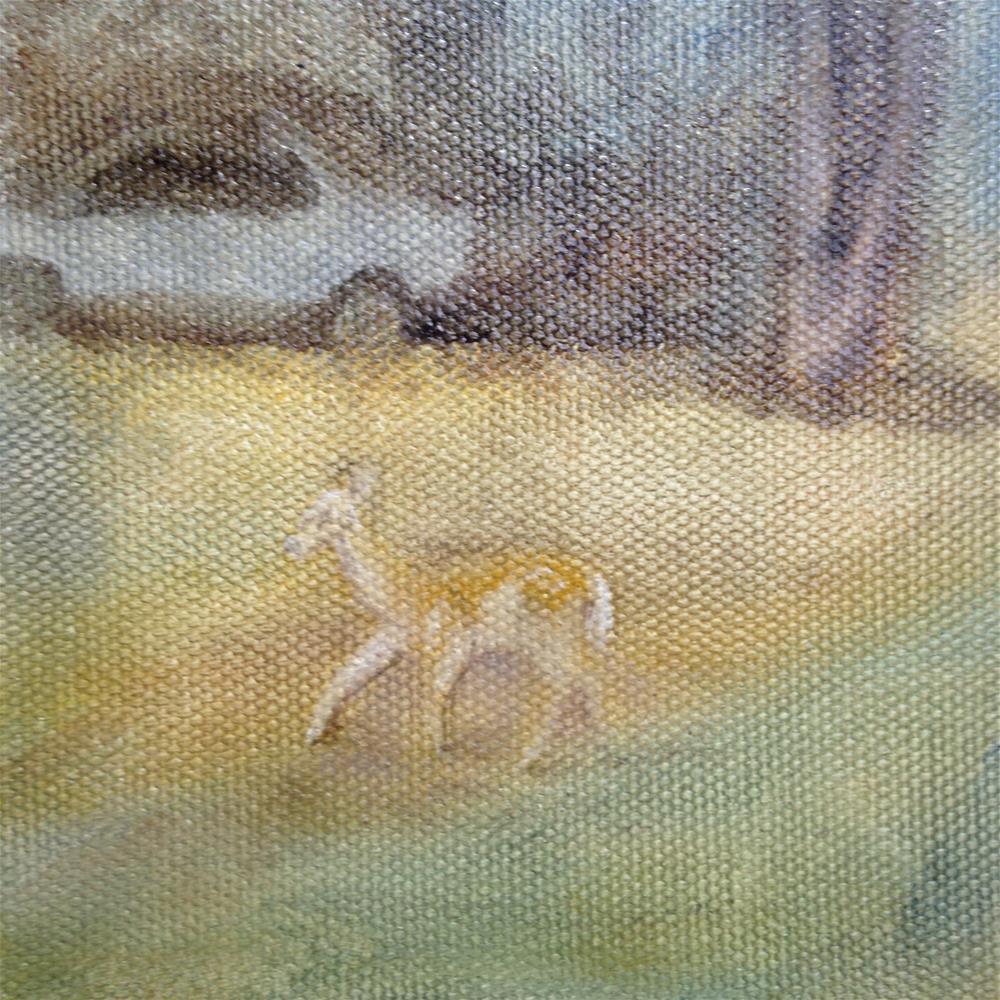 """""""Alone"""" original fine art by Joy McMicken"""