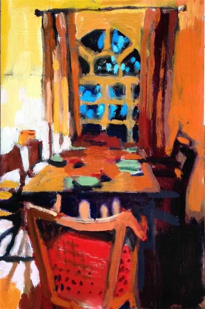 """Almost Thanksgiving"" original fine art by Pamela Hoffmeister"