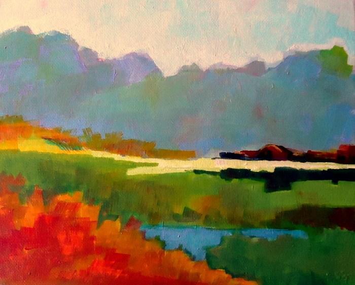 """Open Spaces"" original fine art by Laurie Mueller"