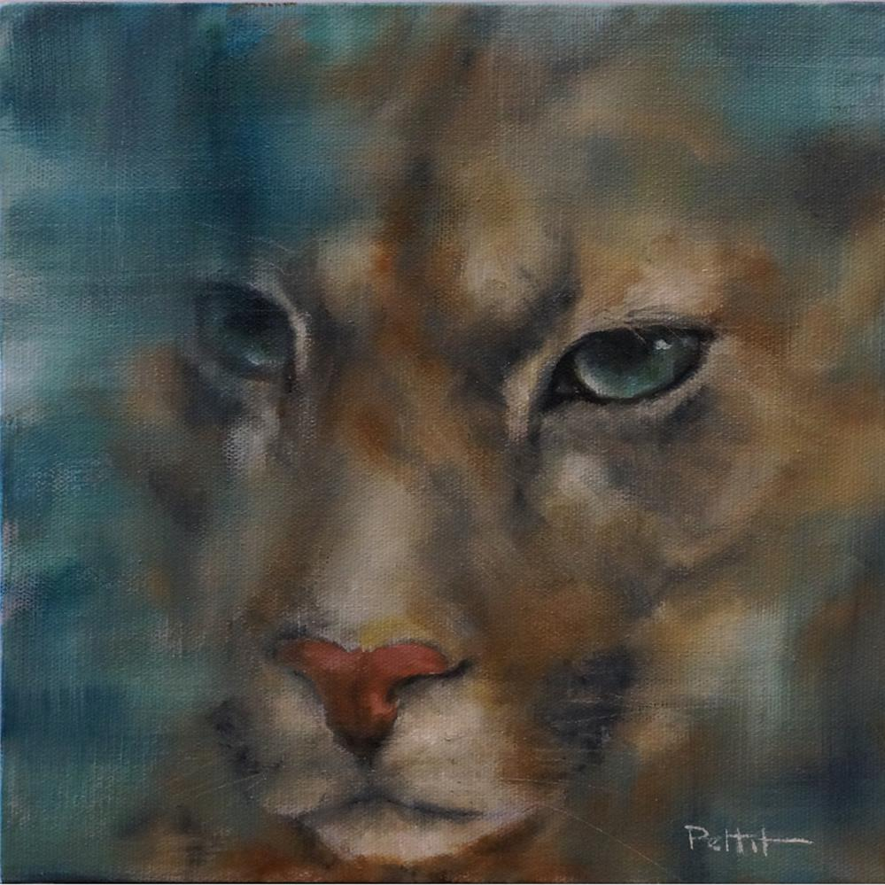 """Eastern Puma"" original fine art by Rhea  Groepper Pettit"