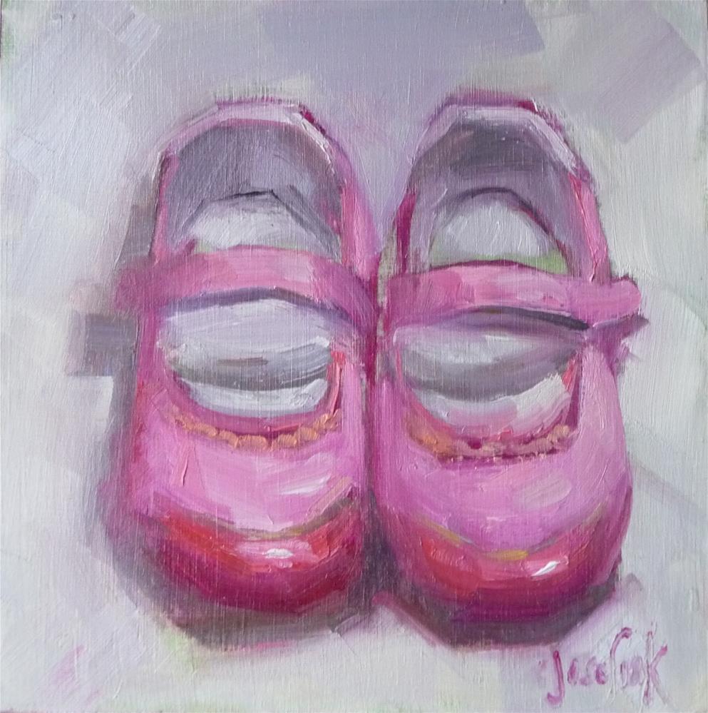 """""""Pretty in Pink"""" original fine art by Carol Josefiak"""