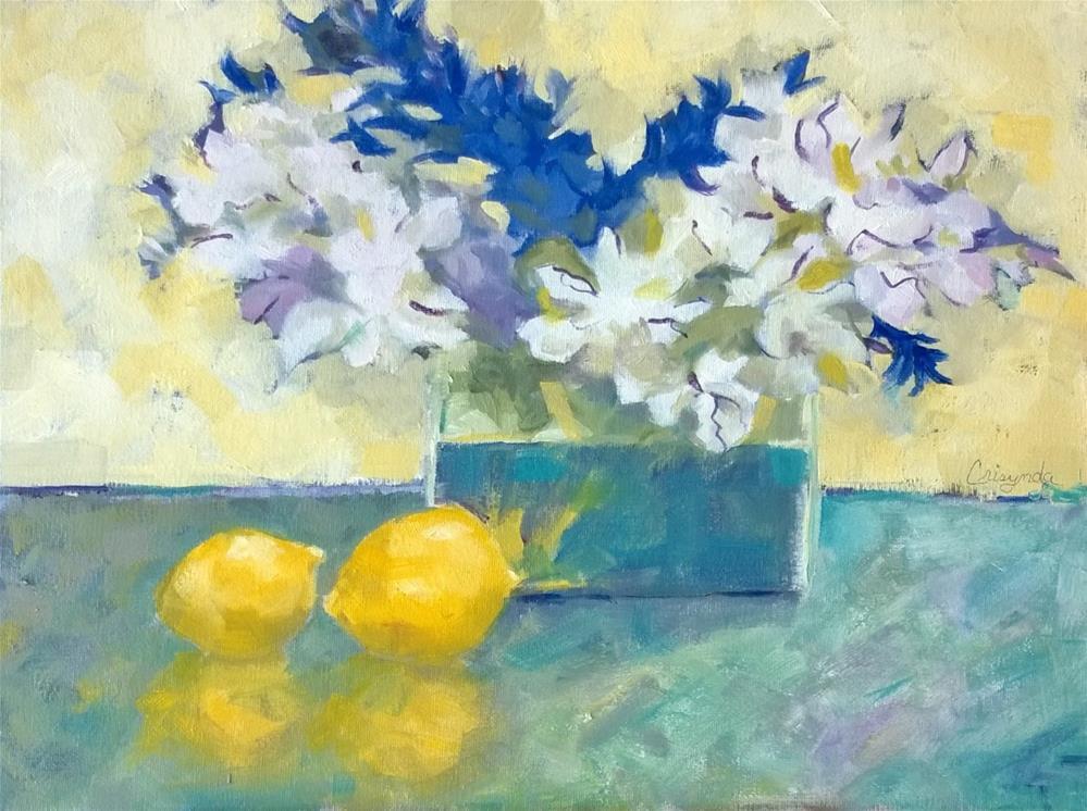 """Colorful Concert"" original fine art by Crisynda Buss"