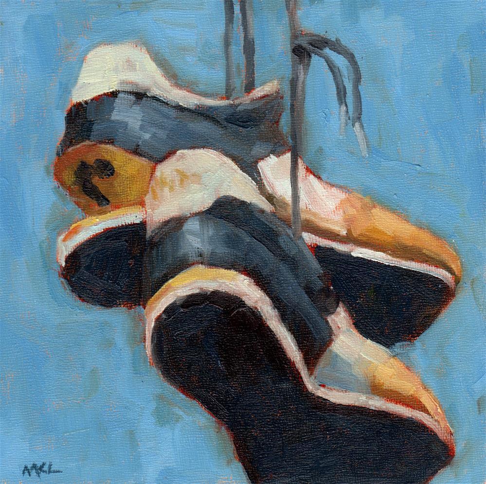 """""""Soleless Shoes"""" original fine art by Marlene Lee"""