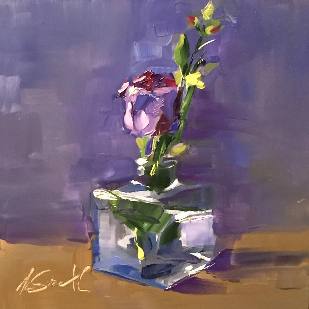 """beginning"" original fine art by Kim Smith"