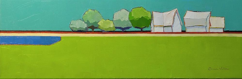 """Symphony III"" original fine art by Donna Walker"
