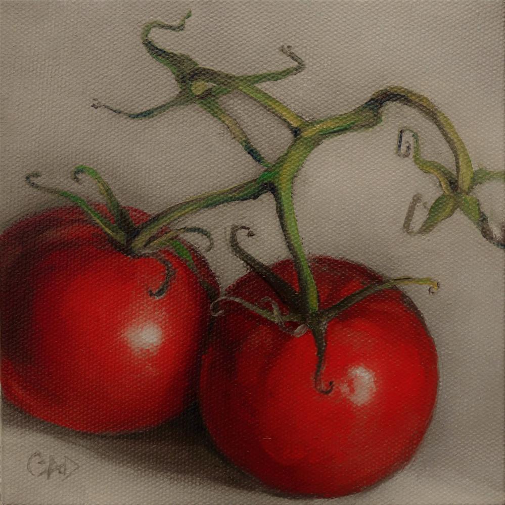 """Connected"" original fine art by Christine Angelotta Dixon"