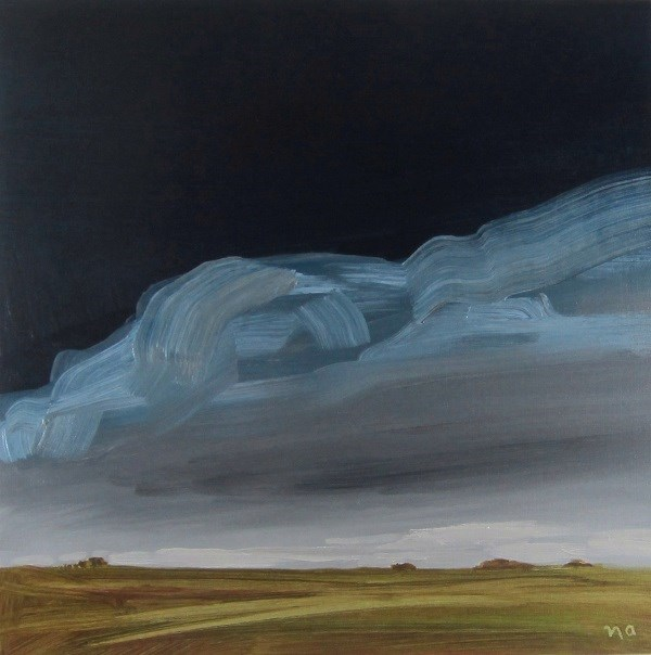 """Dark and Stormy"" original fine art by Nicki Ault"
