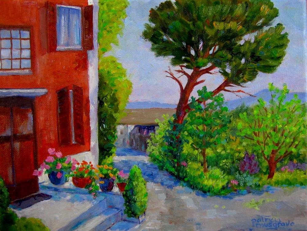 """""""La Casa Vecchia"""" original fine art by Patricia Musgrave"""